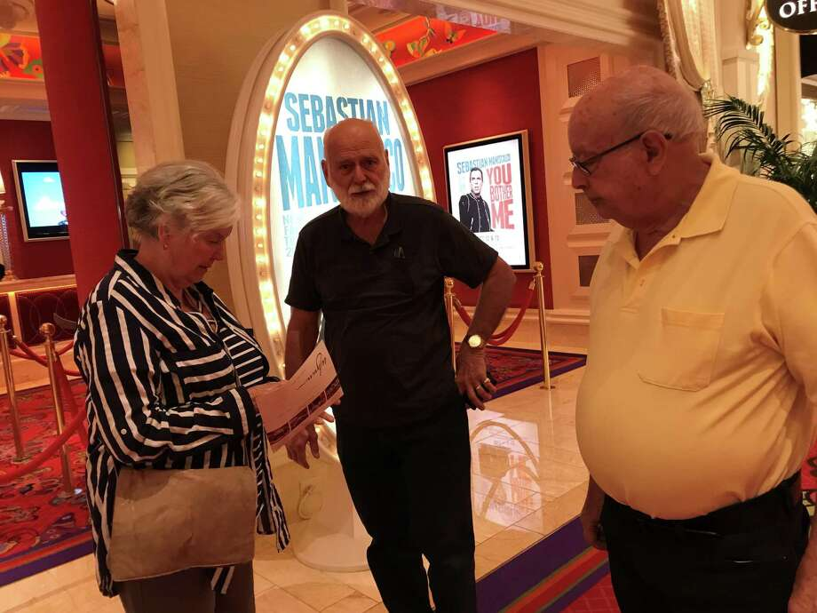 Rich Cutler and Judy and John Midgley in Las Vegas. Photo: Submitted Photo