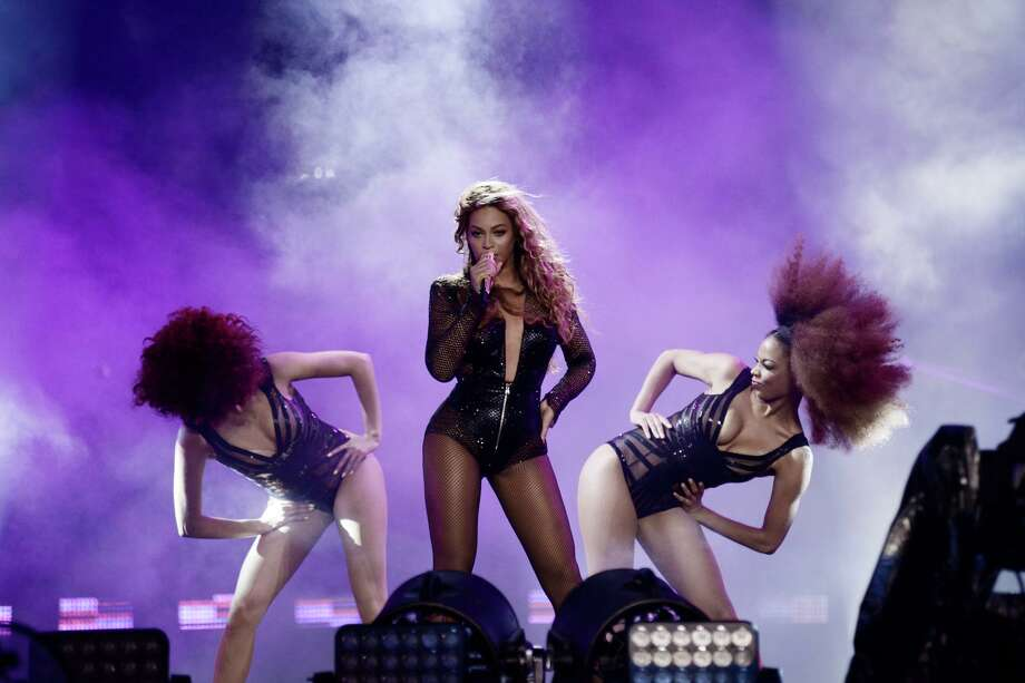 Beyonce performs on the On The Run Tour Photo: Mason Poole,  INVL / Associated Press / Invision