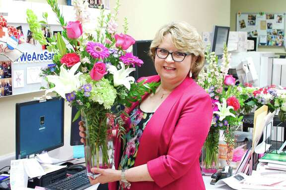 """HCA Houston Healthcare Southeast oncology nurse navigator Karen Harper Wilson says she believes that helping cancer patients is her calling. """"I think God paved the way for me to do this,"""" the Deer Park resident says."""