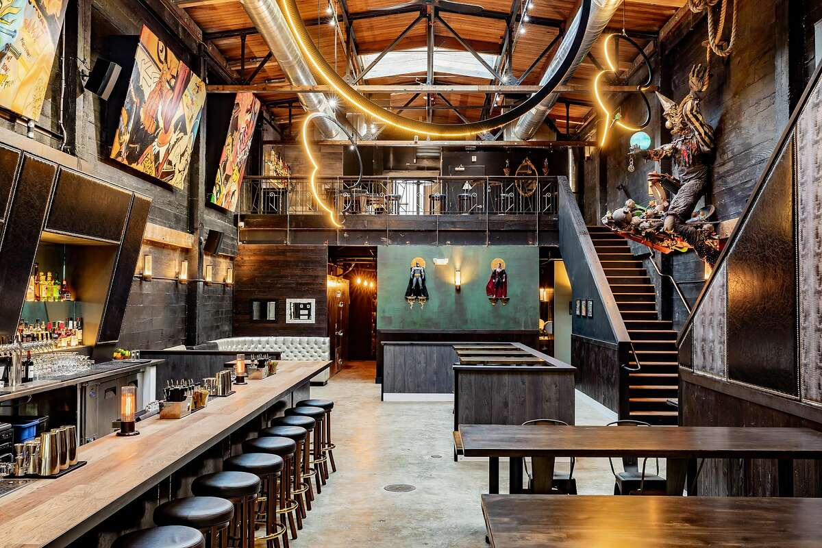 Photos of First Edition, a new comic book-themed bar in Oakland opening Nov. 1, 2019.