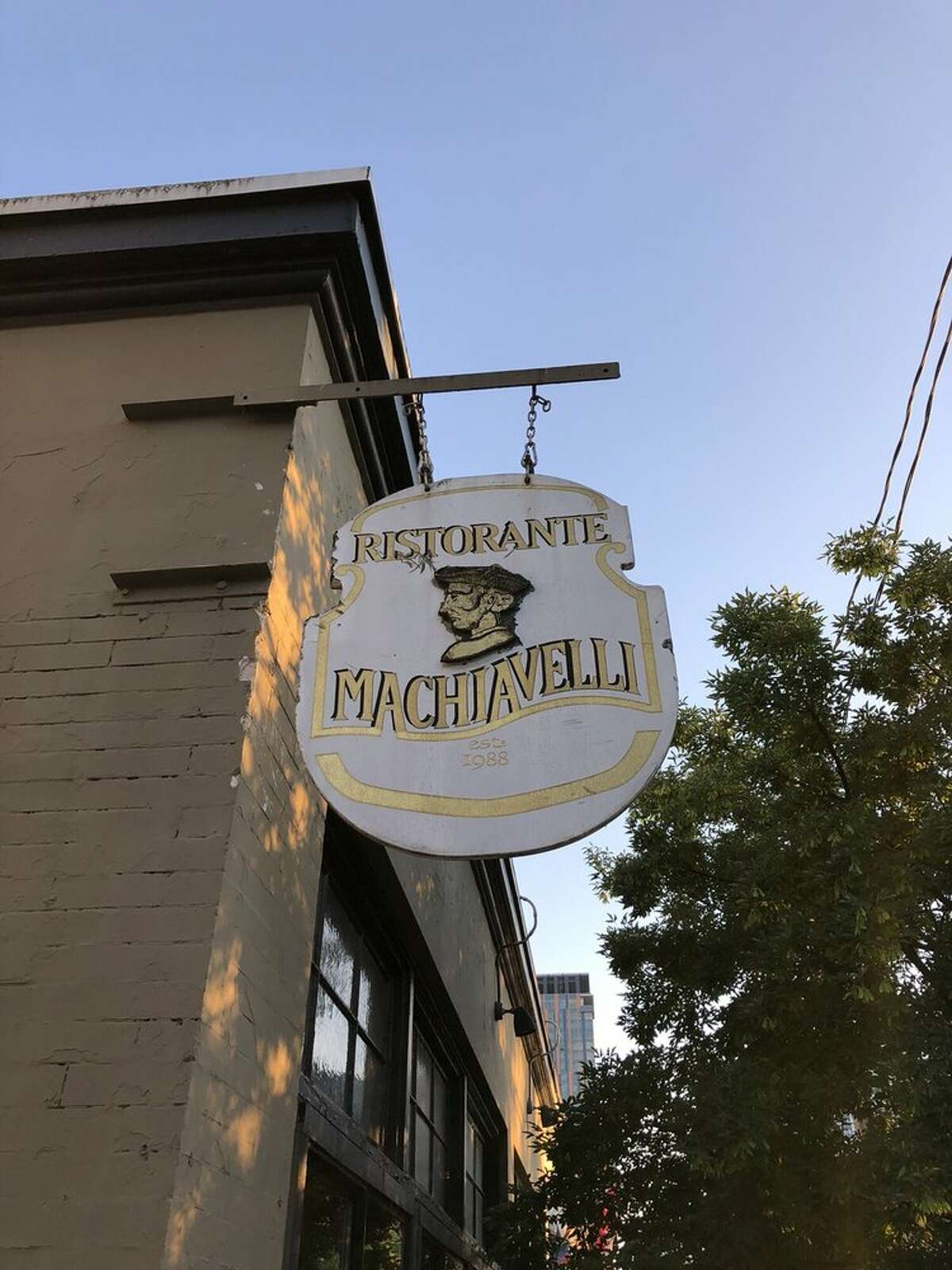 Ristorante Machiavelli celebrated 31 years of business in August of 2019.