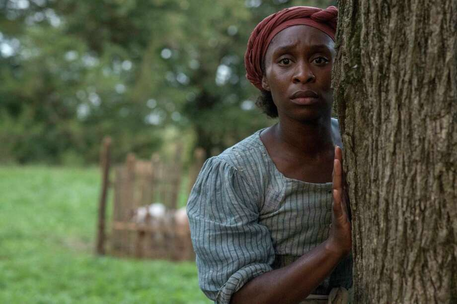 """This image released by Focus Features shows Cynthia Erivo as Harriet Tubman in a scene from """"Harriet."""" (Glen Wilson/Focus Features via AP) Photo: Glen Wilson / © 2019 FOCUS FEATURES LLC. ALL RIGHTS RESERVED."""