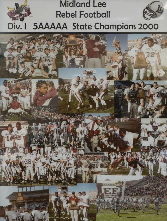 MISD photos of past State Championship teams 10/31/19 Tim Fischer/Reporter-Telegram Photo: Tim Fischer/Midland Reporter-Telegram