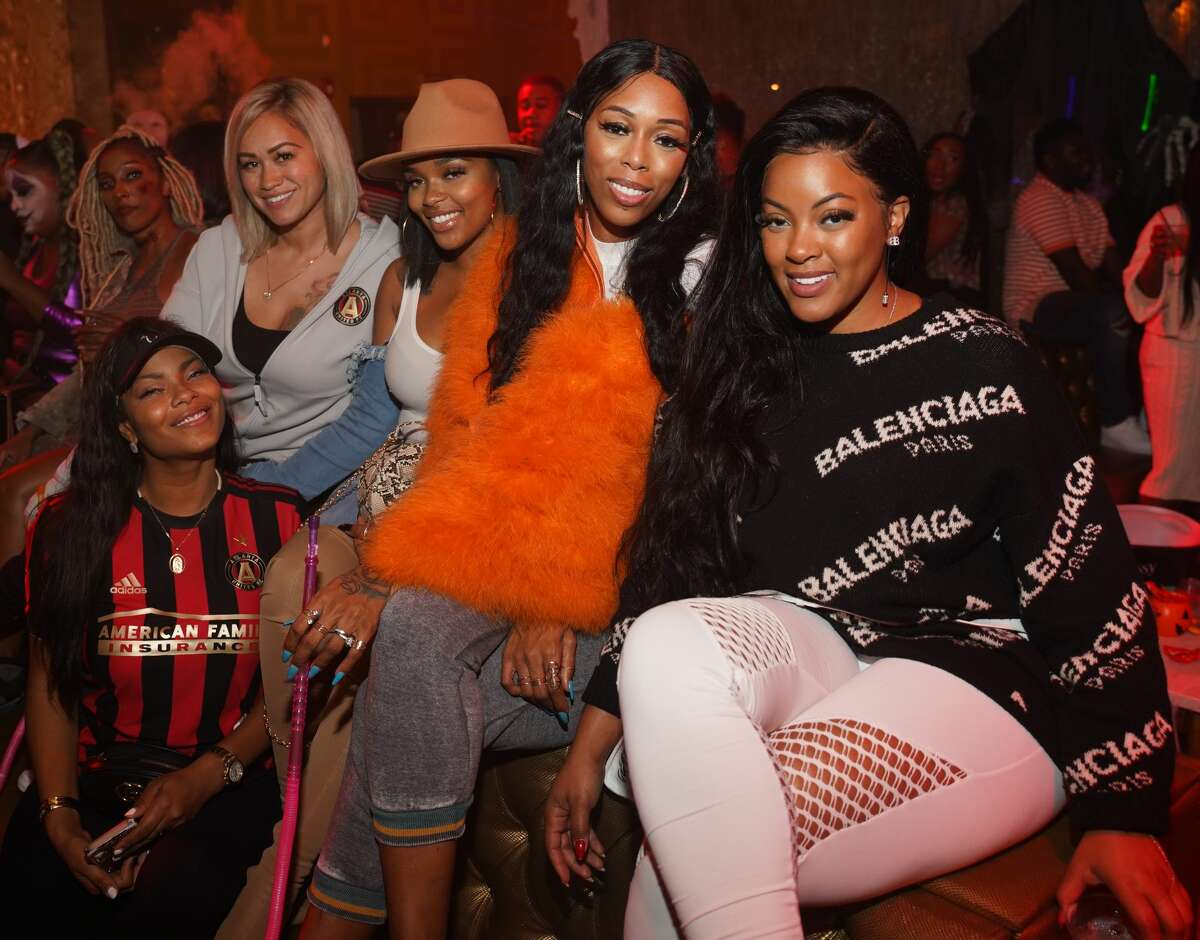 ATLANTA, GA - OCTOBER 30: Sarah Vivan, Sincerly Ward, Ebony Jones, Adiz Benson and Malaysia Pargo attend Halloween Costume Party Hosted by Keri Hilson and Bow Wow at Medusa on October 31, 2019 in Atlanta, Georgia.(Photo by Prince Williams/WireImage)