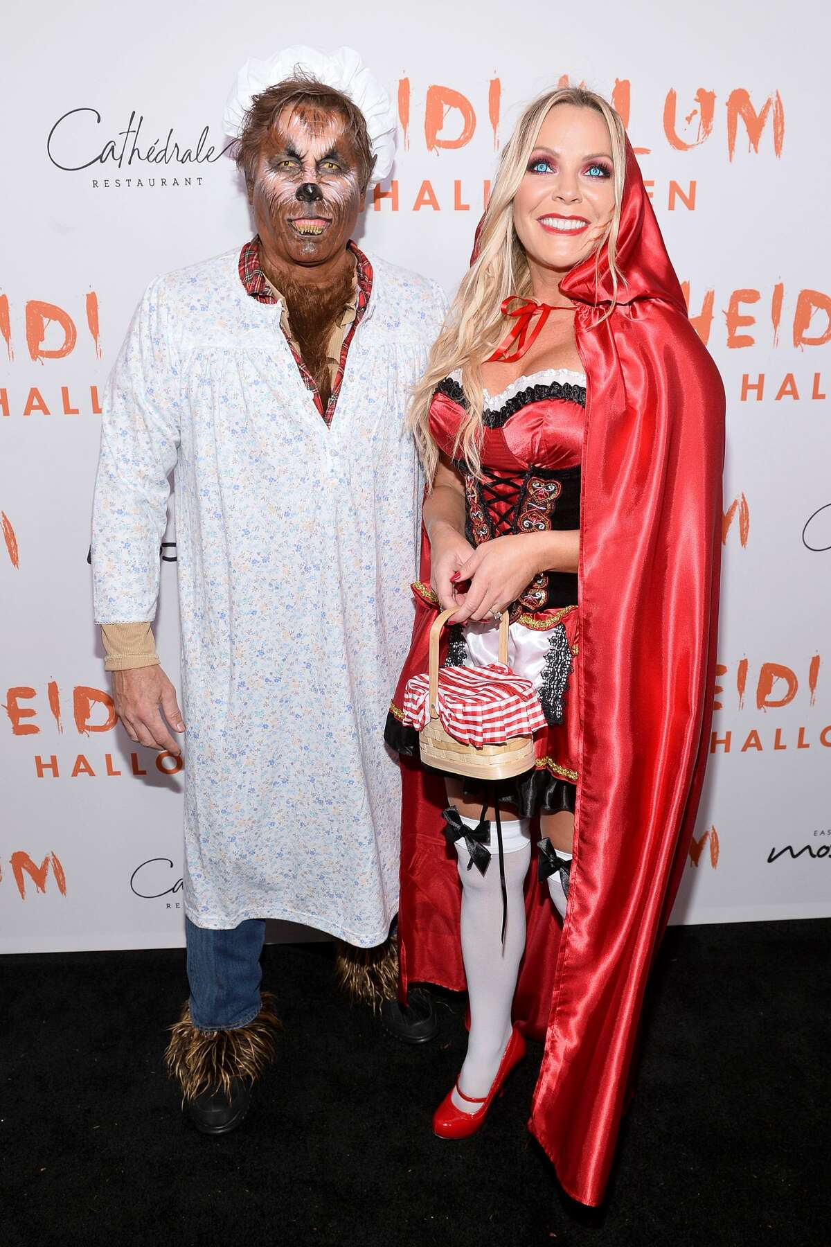 Kevin Mazur (L) and Jennifer Mazur attend Heidi Klum's 20th Annual Halloween Party presented by Amazon Prime Video and SVEDKA Vodka at Cathédrale New York on October 31, 2019 in New York City. (Photo by Noam Galai/Getty Images for Heidi Klum)
