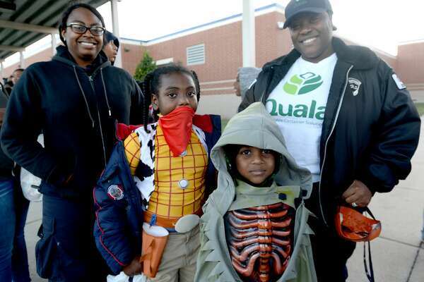 Halloween trick-or-treaters filled Charlton-Pollard Elementary for a trunk-or-treat event Thursday night. Photo taken Thursday, October 31, 2019 Kim Brent/The Enterprise