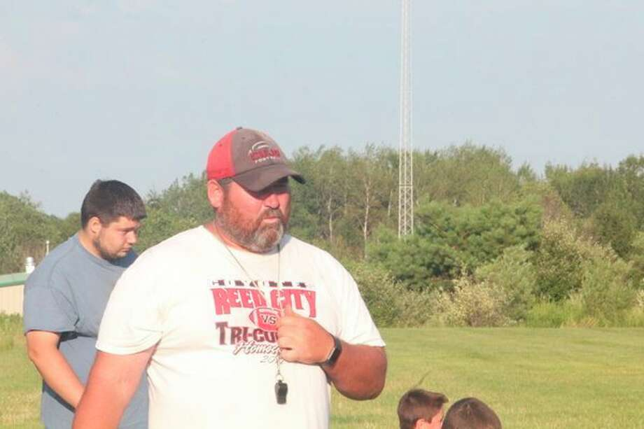 Reed City coach Scott Shankel will have his team in the playoffs on Friday night. (Pioneer file photo)