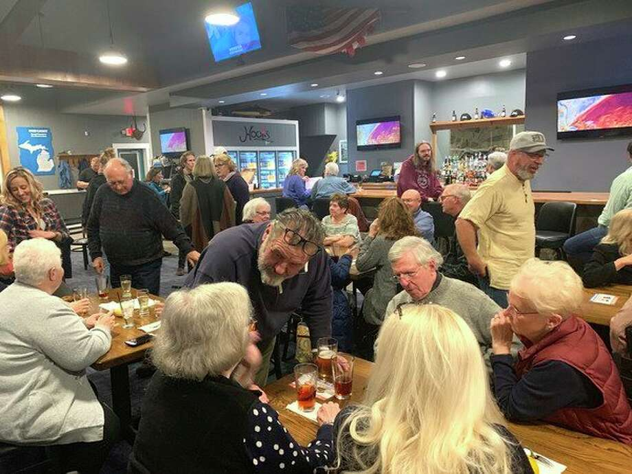 Harbor Beach Artists in Residence 2019 Launch Party took place Tuesday, Oct.15 at the new Hook's Waterfront Resort. (Submitted Photo)