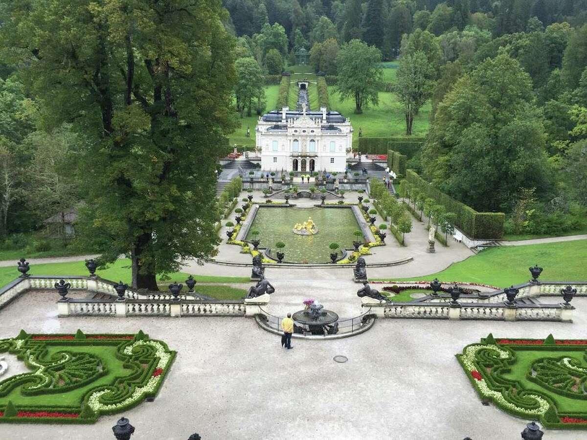 Linderhoff Palace in Ettal, Germany. King Ludwig II had it built.
