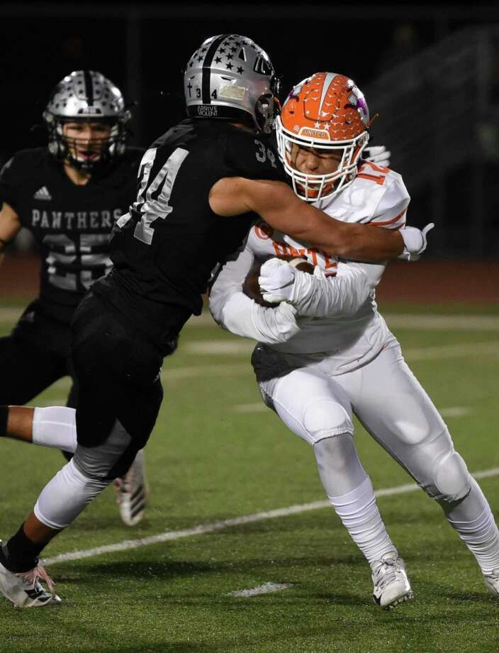 United South's defense has the team on the cusp of history entering the regular season finale at LBJ. Photo: Danny Zaragoza /Laredo Morning Times