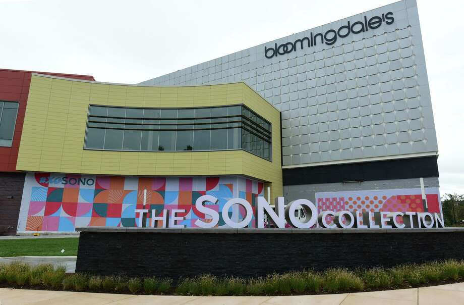 The SoNo Collection mall on the eve of its October 11 opening in Norwalk, Conn. Photo: Erik Trautmann / Hearst Connecticut Media / Norwalk Hour