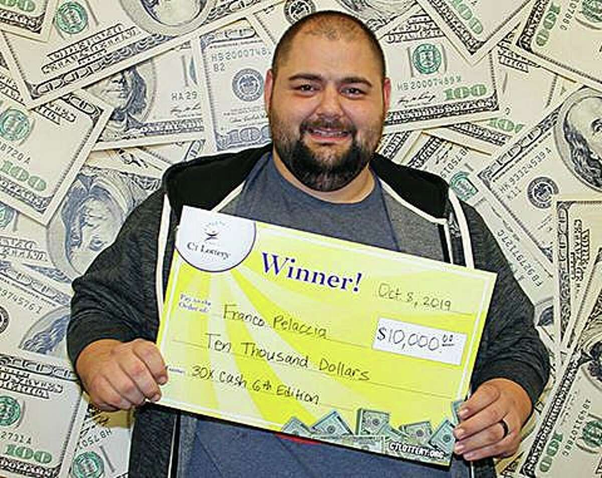 Among the big winners of CT Lottery games last month was was Franco Pelaccia Jr., of Ansonia, who won $10,000 on a 30X Cash ticket.