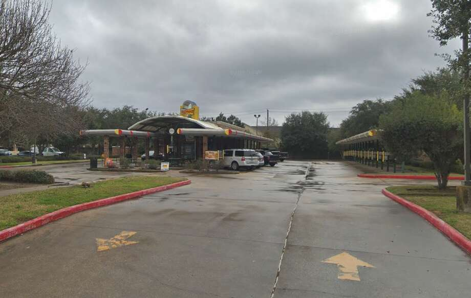 Police are searching for two suspects tied to an armed robbery at the Sonic located at 3221 FM 528 in Friendswood. Photo: Google Maps