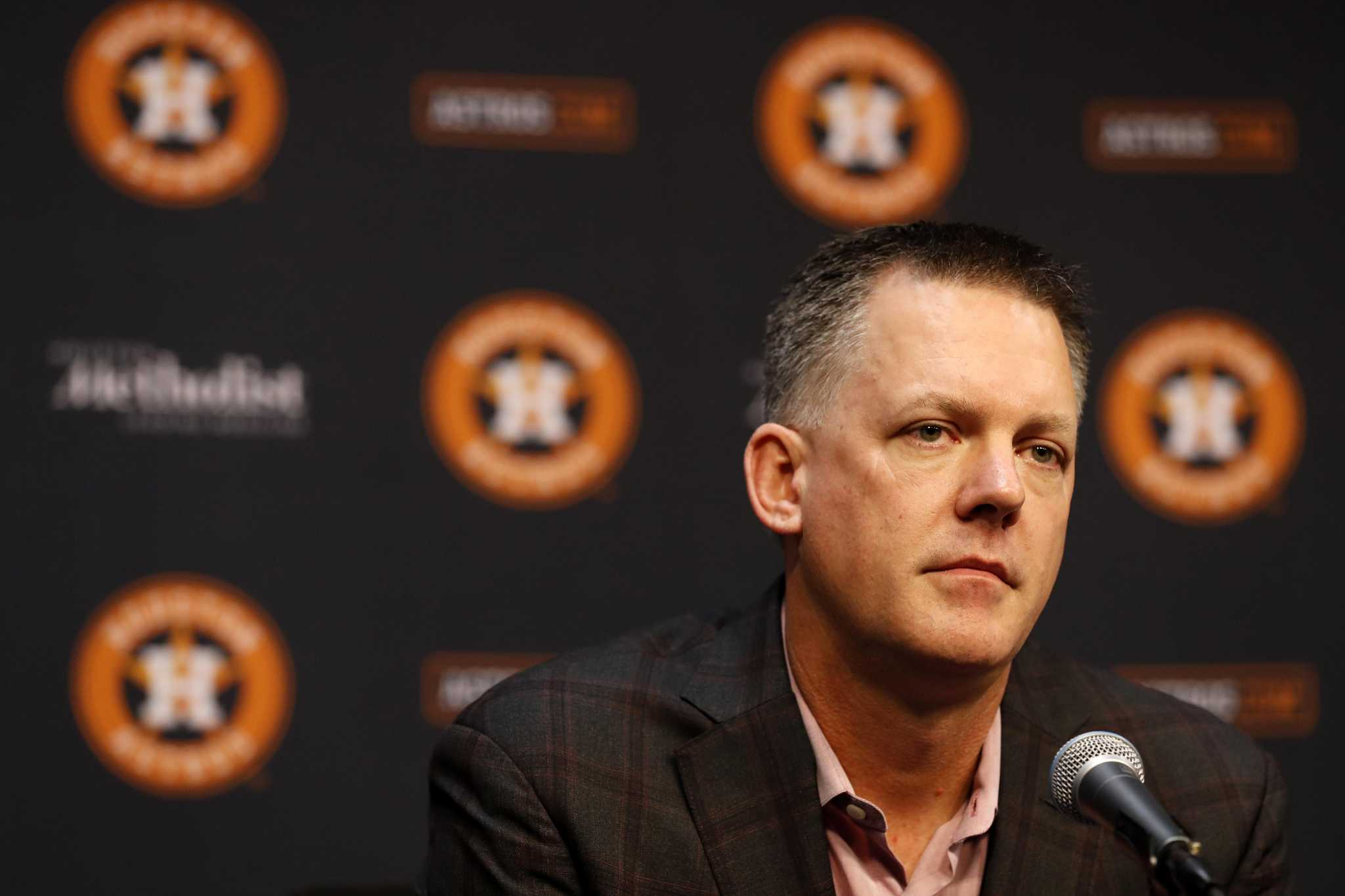 Astros face a question-filled winter meetings
