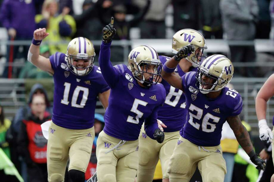 UW football will begin its season Saturday, Nov. 7, on the road at Cal. The Apple Cup vs. Washington State is scheduled for Friday, Nov. 27. Photo: Elaine Thompson, AP / Copyright 2019 The Associated Press. All rights reserved