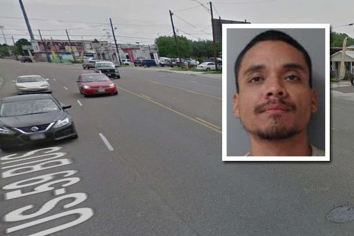 A man crashed his Chevy Avalanche into his ex-spouse's vehicle, according to Laredo police.