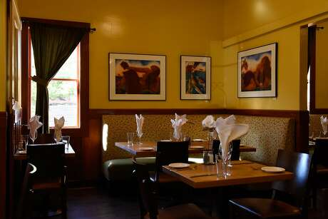 Business owners around Sonoma County fortunate enough to have avoided the flames are being burned instead by mass cancellations and loss of much needed tourism revenue, including The Girl and The Fig on October 31, 2019 in Sonoma, Calif.