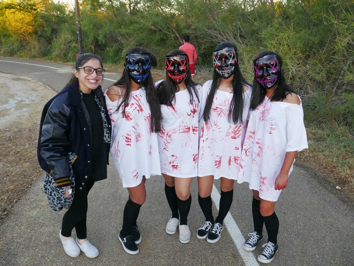 The Alexander High School Band hosted a Zombie Run at North Central Park.