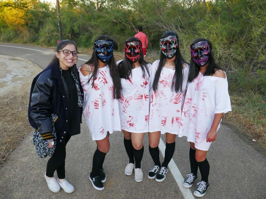 The Alexander High School Band hosted a Zombie Run at North Central Park. Photo: Diana Garro/Laredo Morning Times