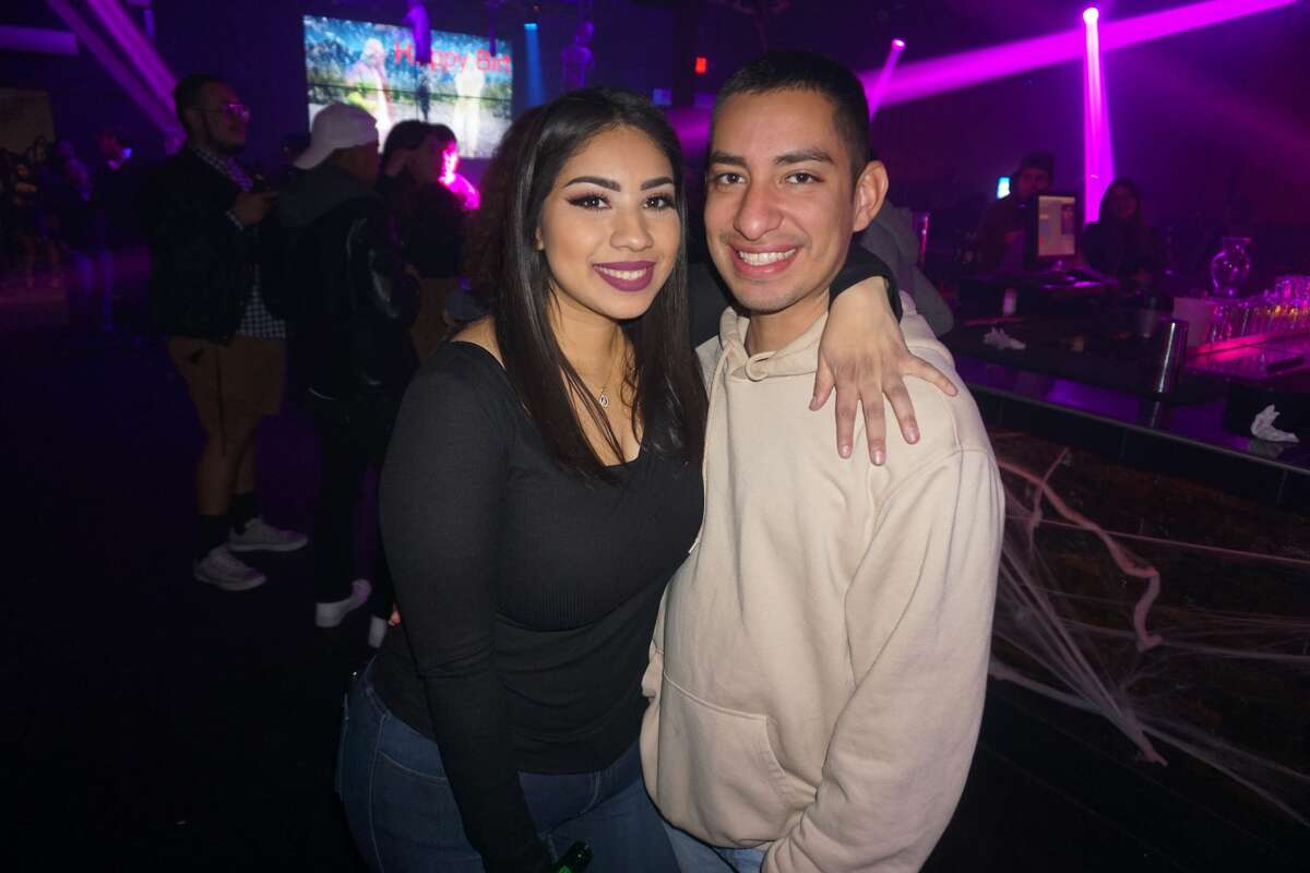 Lynnette Solloa and Rudy Salinas at Taboo Night Club