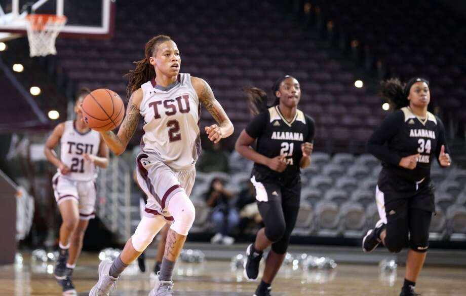 TSU's Niya Mitchell was named the SWAC's preseason Player of the Year and Defensive Player of the Year. Photo: TSU Athletics