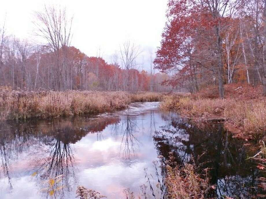 The fall colors are in season along the Kawkawlin River. (Photo provided)