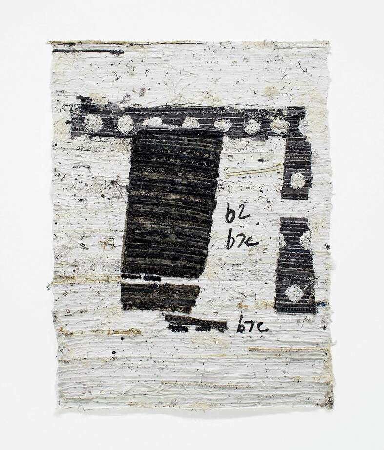 """""""Captured Letter from Paris"""" is among new works in Jamal Cyrus' show """"Currents and Currencies,"""" opening Friday at Inman Gallery. Photo: Jessi Bowman / Jessi Bowman"""