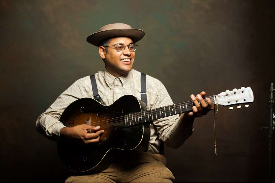 The Ridgefield Playhouse is hosting a double-bill of Americana, Southern Gothic and alt-country music with Dom Flemons and Amythyst Kiah on November 14. Photo: Tim Duffy / Contributed Photo