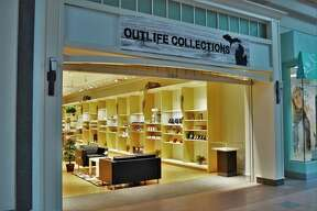 Devin Dice, 21, opened Outlife Collections on Oct. 3 in the Midland Mall, selling American-made gift items, CBD and vape products. (Ashley Schafer/Ashley.Schafer@hearstnp.com)