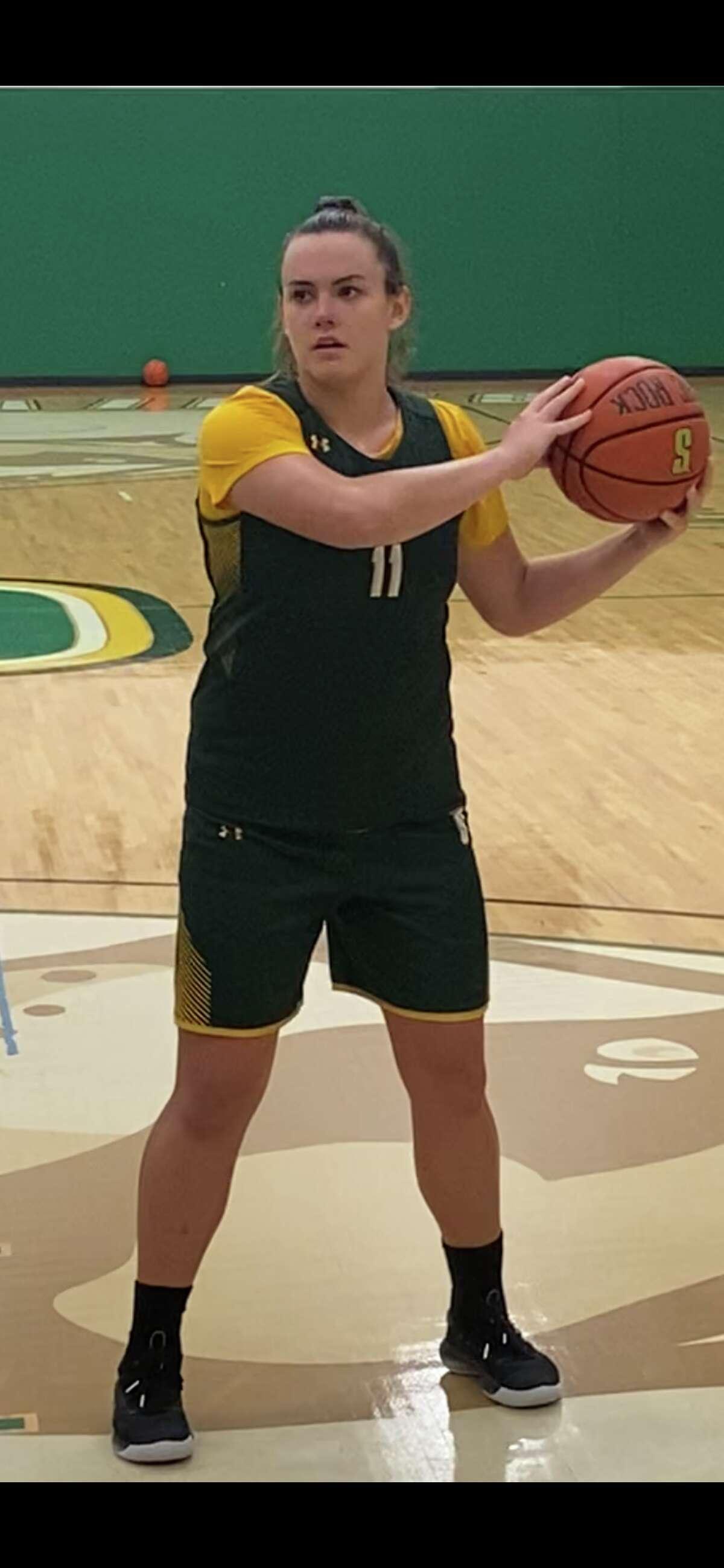 Siena freshman forward Julia Hauer was named state Class A Player of the Year at Seton Catholic in Binghamton. (Mark Singelais/Times Union)