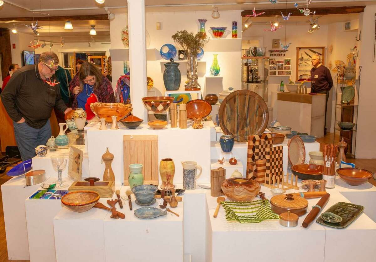 Brookfield Craft Center's 44th annual Holiday Sale takes place November 9 through December 31.