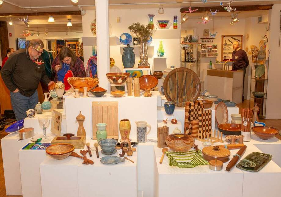 Brookfield Craft Center's 44th annual Holiday Sale takes place November 9 through December 31. Photo: Terrence Tougas / Contributed Photo