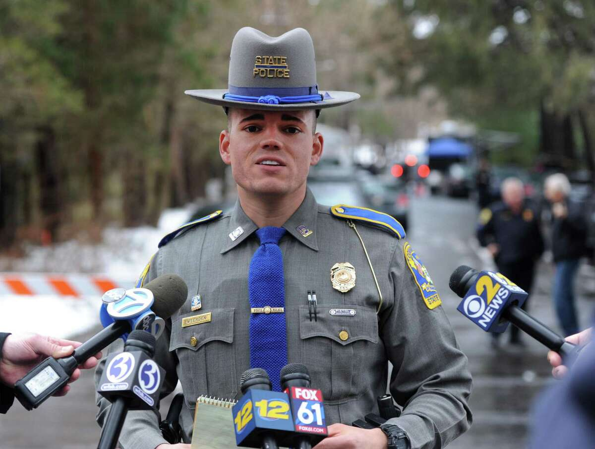 File photo of Connecticut State Police Trooper Tyler Weerden