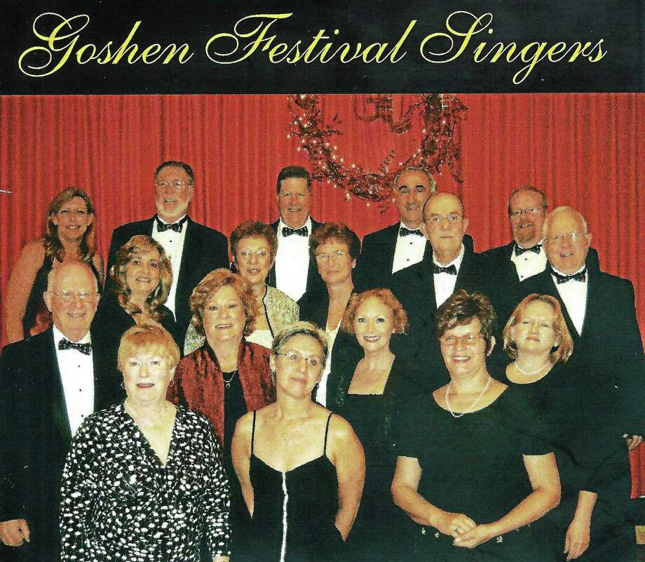 The Goshen Festival Singers, shown here in an archived photo,are presenting their annual concert on Dec. 14 to benefit the Warren Congregational Church. Photo: Contributed Photo / Journal Register Co.