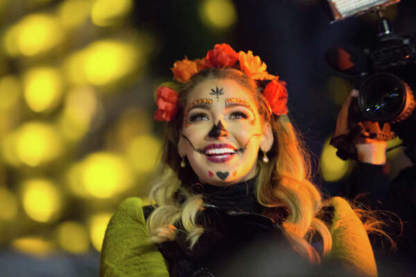 San Antonians came out for the Nov. 1 Day of the Dead celebrations downtown.