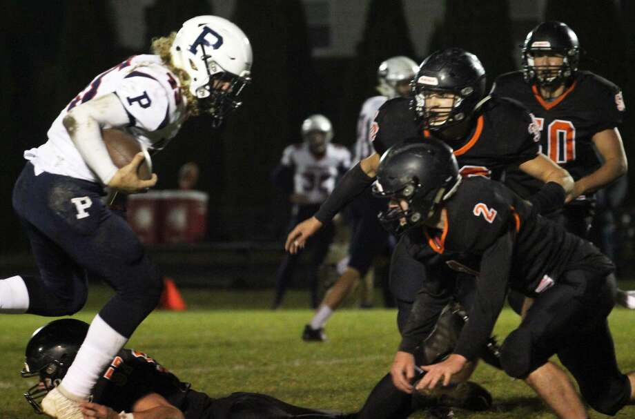 The Ubly Bearcats won their playoff opener vs. USA on Friday night. Photo: Mark Birdsall/Huron Daily Tribune