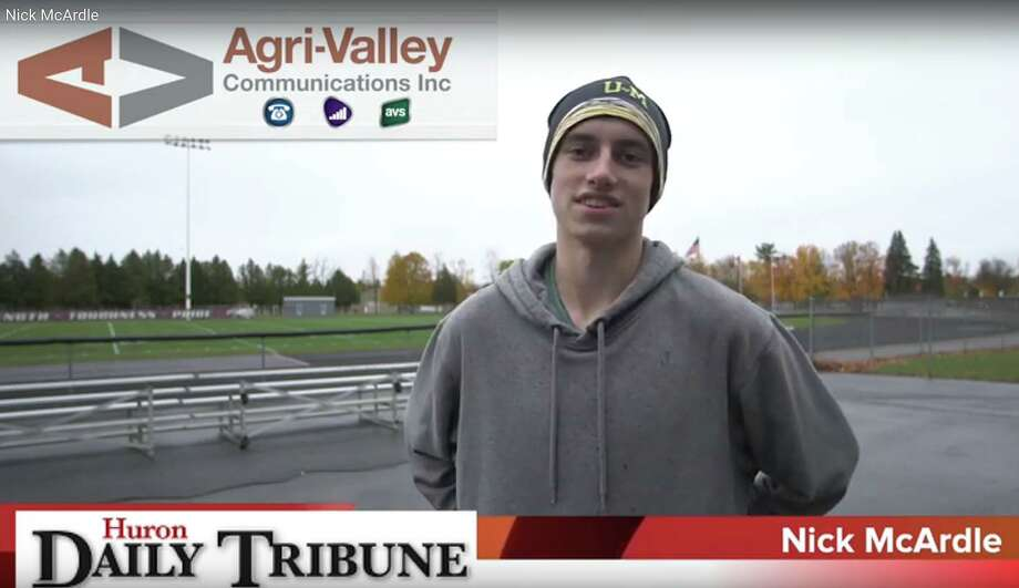 Cass City cross country runner Nick McCardle is the Agri-Valley Athlete of the Week.