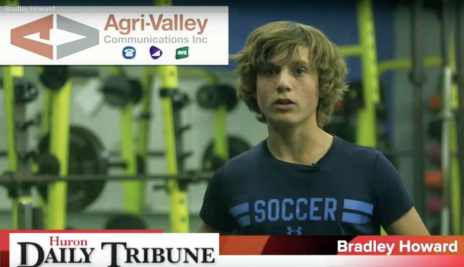 Bradley Howard of the Bad Axe boys soccer team has been named Agri-Valley Athlete of the Week.