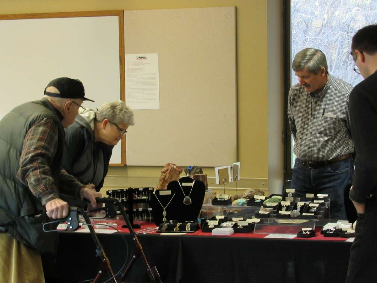 Rock enthusiasts of all ages gathered on Saturday, Nov. 2 at Chippewa Nature Center's visitor center for the Mid-Michigan Rock Club's 26th annual rock show. The show continued on Sunday, Nov. 3.
