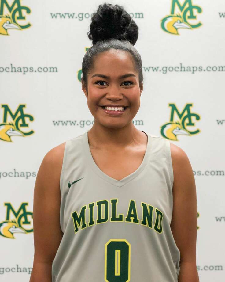 Midland College post Ella Tofaeono Photo: Midland College Athletics