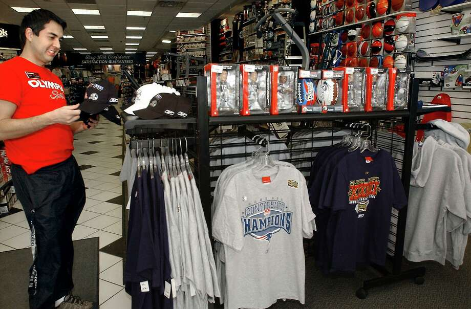 A file photo of an Olympia Sports in Branford, Conn., one of several stores targeted for closure after the October 2019 sale of the company to running gear retailer JackRabbit. Photo: New Haven Register File Photo