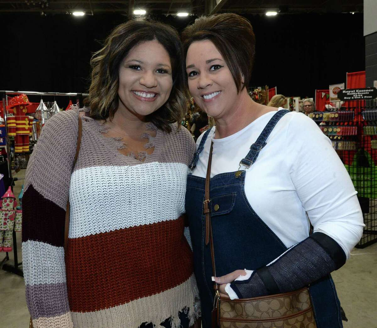 Shoppers get a jump on the holidays at the Nutcracker Market Saturday at Ford Park. Photo taken Saturday, November 2, 2019 Kim Brent/The Enterprise