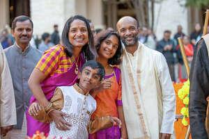 San Antonians made their way to celebrate Diwali on Saturday, November 2, 2019 at the Hemisfair downtown.
