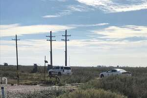 A man was found dead Saturday morning at an oil well site in Chambers County, authorities said.