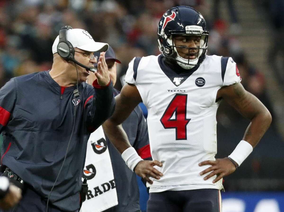 Bill O'Brien and Deshaun Watson have helped guide the Texans to a 6-3 record going into their open week.
