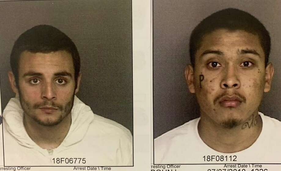 Santos Fonseca (left) and Jonathan Salazar (right) escaped from the Monterey County Jail on Nov. 3, 2019, local police said. Photo: Monterey County Sheriff