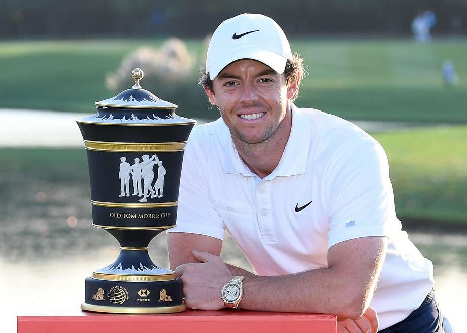 Rory McIlroy, bogey free for the weekend, won a third WGC title. Photo: Ross Kinnaird / Getty Images