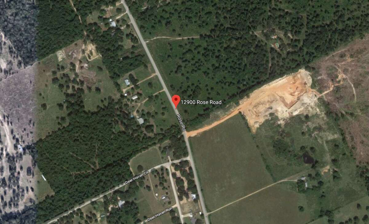 The naked body of a 50-year-old Coldsprings woman was discovered near the entrance of a property on the 12900 block of Rose Road in Conroe, Texas.