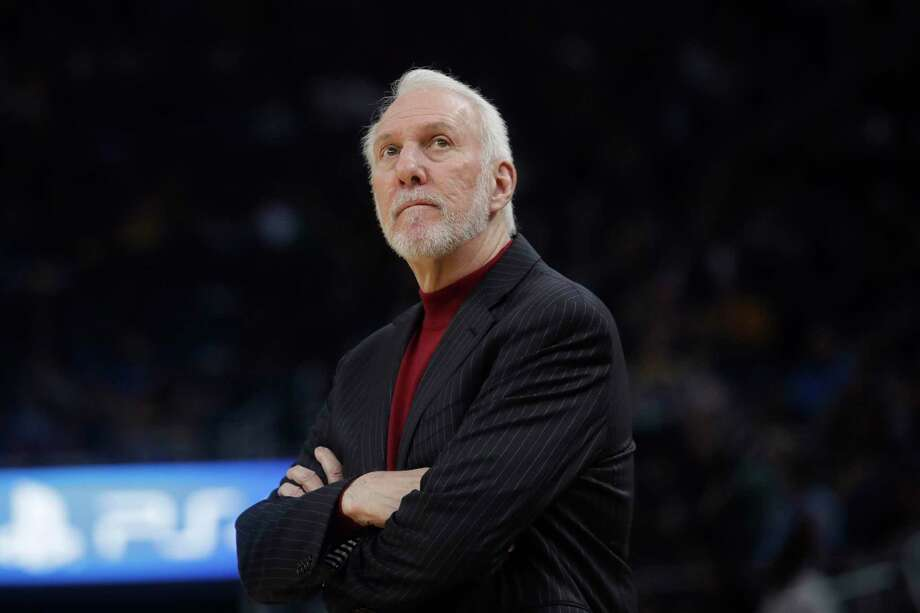 Gregg Popovich is part of an NBA Coaches Association committee formed to address racial conflict in each of the league's cities. Photo: Jeff Chiu /Associated Press / Copyright 2019 The Associated Press. All rights reserved