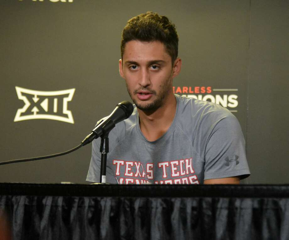 Junior guard Davide Moretti is the lone returning starter for the Texas Tech men's basketball team as the Red Raiders enter the most highly-anticipated season in program history. Photo: Nathan Giese/Planview Herald